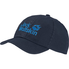 Jack Wolfskin Baseball Cap Kinderen, night blue